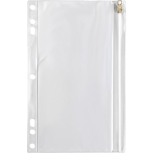 SPR01606 - Vinyl Ring Binder Pocket, 9-1/2x6, Clear