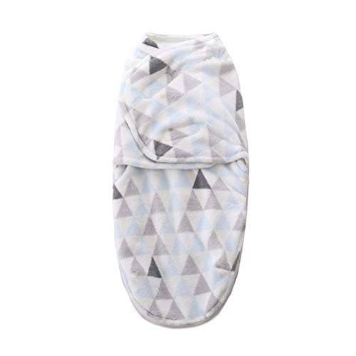 LLX Unisex Baby Schlafsack Komfortabel Matten Und Decken Auflagen Für Kinderwagen Atmungsaktiver Flanellstoff Geeignet Für Baby 0-6 Monate,Lightblue