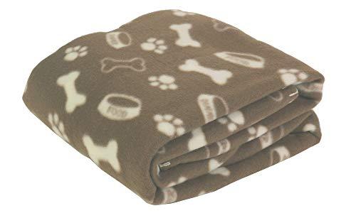 Oktave® Pets bedruckte Haustier-Decke–120cm x 120cm.