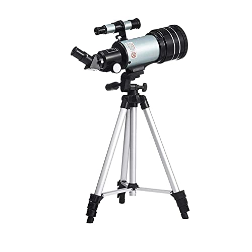 IW.HLMF Telescopio para astronomía Soporte Alto Observación de Estrellas Profesional Alto Aumento Refractor de astronomía de 70 mm de Alta definición