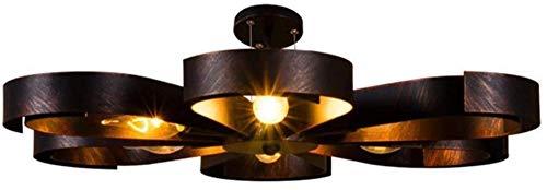 Lámpara de Techo de Metal lámpara de Techo de lámpara para cocinas Mesa de Comedor de Sala de Estar Well