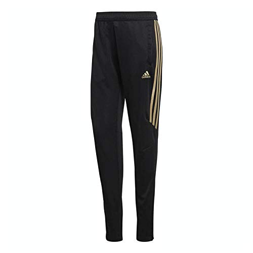 adidas Mens Tiro 17 Training Pant Black/Gold Dt5059black/Goldmet L