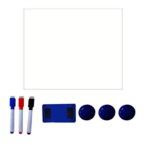 #N/a Calendario magnético de nevera de borrado en seco, calendario magnético de pizarra blanca para la decoración de la cocina del hogar de la pared del - Estilo 6
