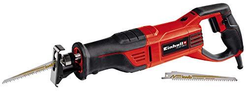 Einhell TE-AP 950 E, Sierra universal (950 W, pie de sierra ajustable sin herramientas, cambio de hoja de sierra sin herramientas, incluye hoja de sierra para madera de calidad KWB)