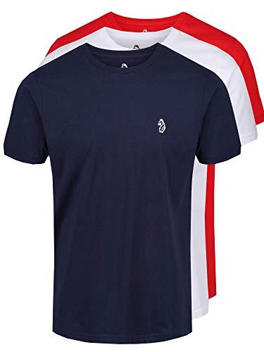 Luke - T-Shirt - Uomo Red White Navy L