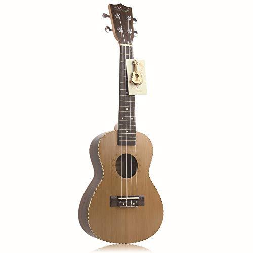 JINHONGH Ukulele Ukulele 24-Zoll-Kiefer aus Palisander, Einzelne Palisander Hawaiianische Gitarre