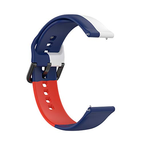 Correas de Reloj,3 Colores Correa para Fitbit Versa 2,Bandas Correa Repuesto,Flexible Silicona Reloj Recambio Brazalete Watch Correa Repuesto para Fitbit Versa 2/Versa /Versa lite/Blaze (color 9)