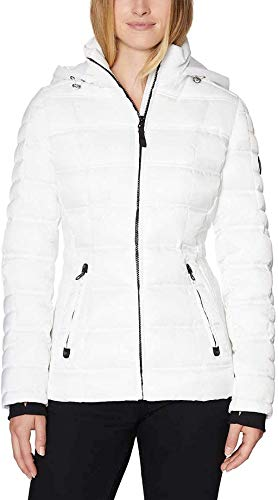 Nautica Damen Puffer Jacke -  Weiß -  Large