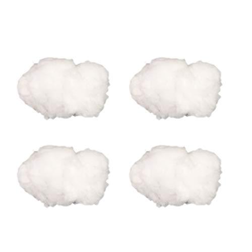 STOBOK 4 Piezas Decoraciones de Nubes Artificiales Accesorios de Nubes de algodón para Decoraciones Colgantes de Fiesta de Bodas para niños