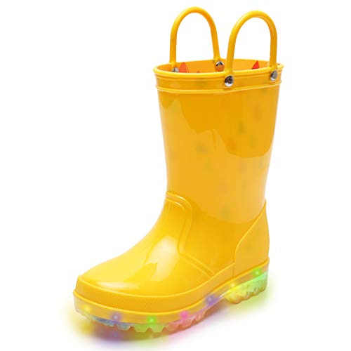 Kids Yellow Boots
