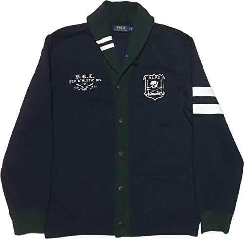 Ralph Lauren Polo Men's Shawl Cardigan Medium Navy