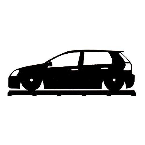 Schlüsselbrett VW Golf 5 in schwarz