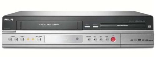 Philips DVDR 3430 V DVD-Rekorder / Video-Rekorder Kombination silber