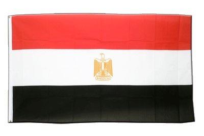 Ägypten Flagge, ägyptische Fahne 90 x 150 cm, MaxFlags®