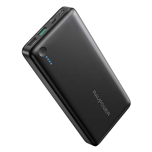 RAVPower 20100mAh - Quick Charge 3.0 + USB C