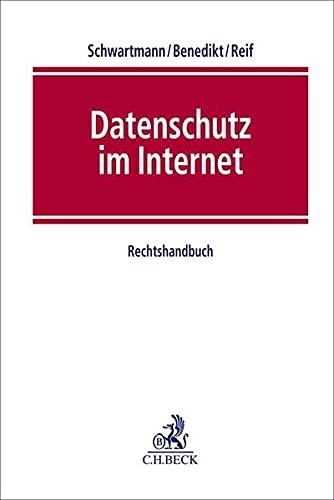 Datenschutz im Internet: Rechtshandbuch