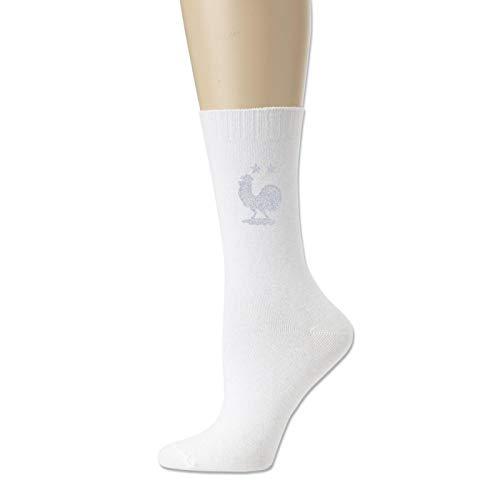 Cotton Socks for Men and Women Football Team Logo of France Novelty Sock Unisex