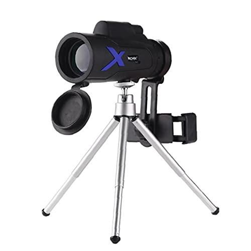 EElabper Potente Telescopio Monocular De Alta Definición De Alta Potencia Portátil Mini para Viajar Profesionales De Caza