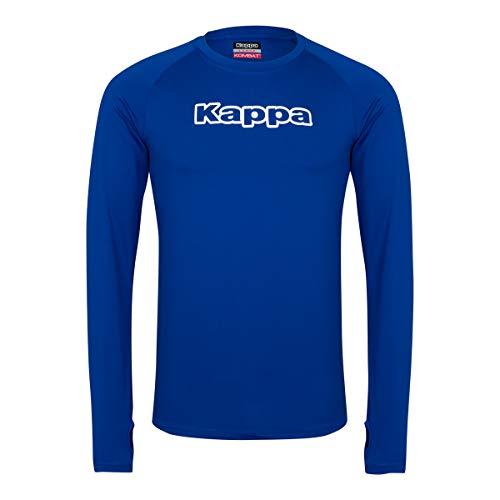 Kappa 302FEU0, Camiseta de Manga Larga Para Hombre, Azul (Royal Blue), XS