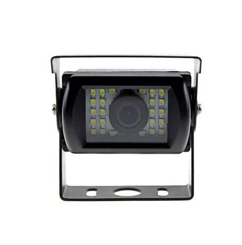 YMPA RFK-M120-4PINLED Rückfahrkamera Kamera Farbe Drehbar LED Lampe Licht Nachtsicht 6 Meter Kabel Monitor Auto KFZ PKW Wohnmobil Landmaschine Transporter