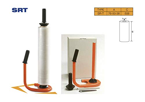 Freiziel® Stretchfolien Abroller Profi Orange SRT