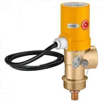 542870 Válvula de descarga térmica SOL CALEFFI, con ajuste de acción positiva 85 ° C