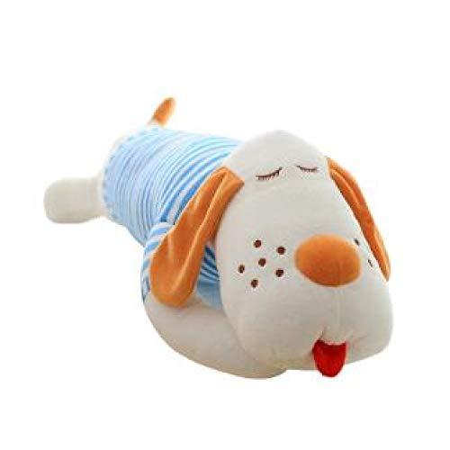 N / A 1pcs 70cm Ultra Streifen Low-Cost-Plüschtier Riese liegen liegend Papa Hund ausgestopfte Puppe niedlichen Kissen kreative Puppen 70cm