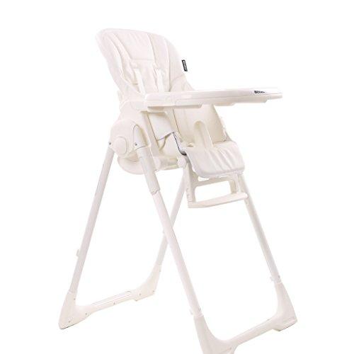 QARYYQ Europese multifunctionele kinder-eetkamerstoel baby eetkamer stoel baby eetkamer stoel leder ESS-zitting eethoek hoge stoel