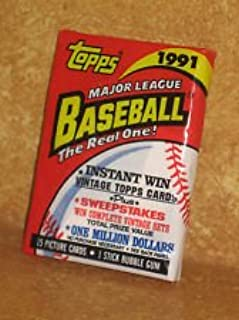 Topps Major League Baseball - The Real One 1-pack/15 Cards