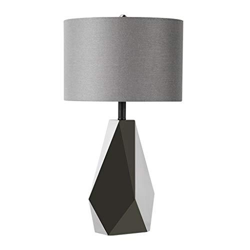 Lámpara de Mesa Simple lámpara de mesa de noche y personalizado contador de la lámpara de la serie Grey vida en tres dimensiones de decoración de interior de la lámpara (sin fuente de luz) Lámparas de