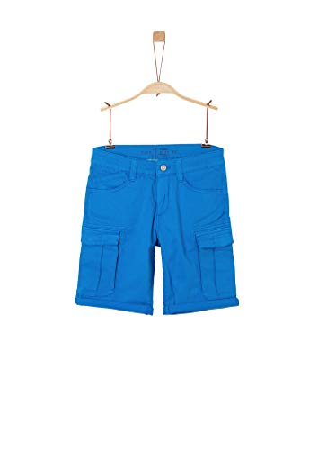 s.Oliver Junior 402.10.004.18.180.2037890 Cargos, Jungen, Blau 152 BIG