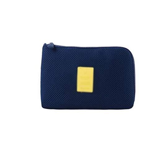 SMEJS Maquillage Sac/Voyage Mignon cosmétique Pochette de Rangement/Pinceau Holder Kit Mode Femmes Toiletry et Bijoux imperméable Fille Organiser (Color : B)