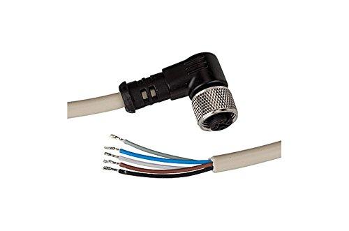 Elektrische aansluitkabel met 90°-hoekstopcontact en 5 m kabel, 5-aderig, voor onderhoudsunit »ONE«