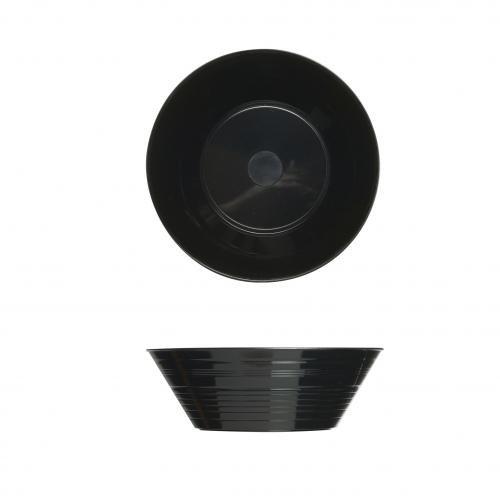Plastico 1001bl Plastique Petite Bowls-, Noir (Lot de 100)