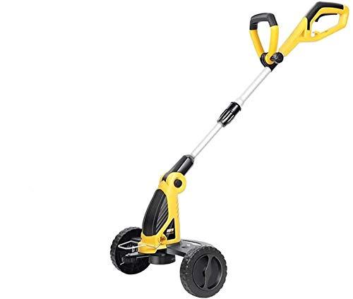 Cortacésped eléctrico de 800 W, cortacésped pequeño de empuje, cortacésped de bajo ruido, adecuado para el cuidado del césped de jardines pequeños yellow,800W