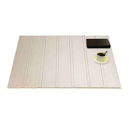 Nevy Badewannenabdeckung Staubdichte Badewannenablage Falten Isolationsabdeckung PVC Dämmplatte 19 Größen Für Das Badezimmer Langlebig (Color : White, Size : 0.8 X 1.63M)