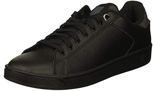 K-Swiss Damen CLEAN Court CMF Sneaker, Schwarz (Black/Charcoal 006), 41.5 EU