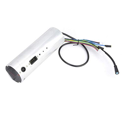 DAUERHAFT Tablero de Control eléctrico fácil de Usar de aleación de Aluminio sin escobillas con Pantalla LCD, para Scooter eléctrico Plegable Es2 / Es3 / Es4