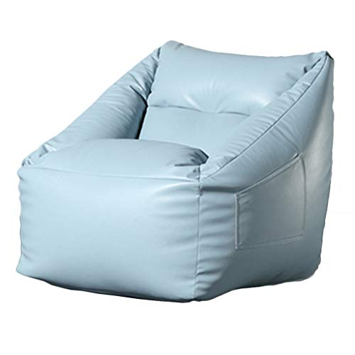 Soft Puf Silla Dormitorio Individual Lazy pequeño sofá balcón Puf Silla de salón Multicolor Opciones de Seguridad de Espuma de Memoria de llenado (Color : B, Size : 62 * 65 * 75cm)