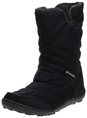 Columbia Women's Minx Slip III Snow Boot, Black, steam, 8.5