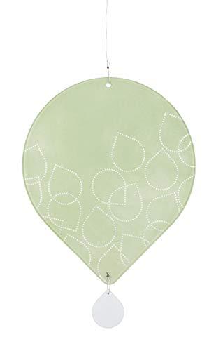 Unbekannt Blattwerk Fensterbild 'Blätter' hellgrün - Räder Design