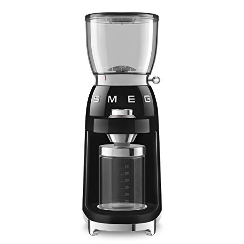 Smeg CGF01BLEU kaffekvarn, svart