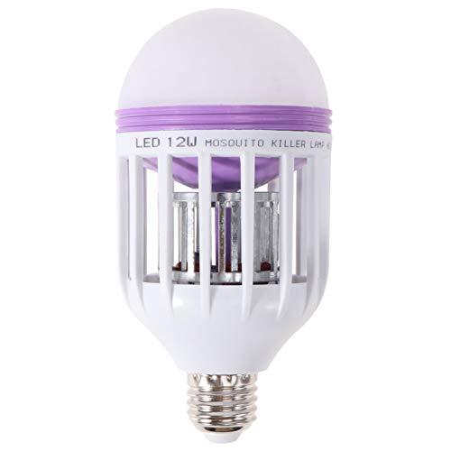 Uonlytech 2 Stück Bug Zapper Elektronische UV-LED-Lampe Moskitonetz Killer Insektenlampe Zapper Bug Fly Trap für Außenbereich Terrasse Schlafzimmer Hof (110 V)