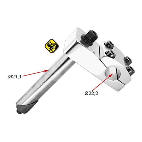 Power - Potencia para manillar de bicicleta BMX de 22,2 mm