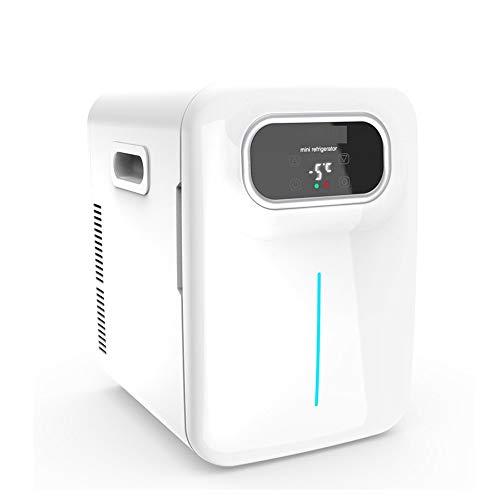 DALIBAI Mini refrigerador de 20 litros de AC/DC portátil refrigerador termoeléctrico y Calentador for el Cuidado de la Piel, Alimentos, medicinas, hogar y el Recorrido (Blanco)