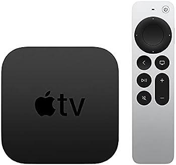 Apple TV MXH02LL/A 4K 64GB Streaming Media Player (Latest Model)