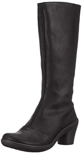 art Damen 1449 Wax Alfama Schlupfstiefel, Schwarz (Night Night), 38 EU