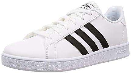 adidas Grand Court, Sneaker, Blanco Negro Blanco, 37 1/3 EU