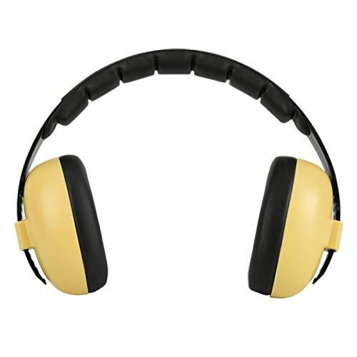 SFBBBO Headset Kinder schlafen Ohrenschützer Proof Ohrenschützer Jungen Anti Langlebiger Kopfhörer Gehörschutz GELB