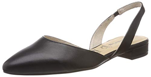 Tamaris Damen 1-1-29401-22 Slingback Pumps, Schwarz (Black Leather 3), 40 EU